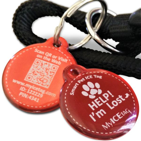 Smart Deluxe Coated Pet Tag