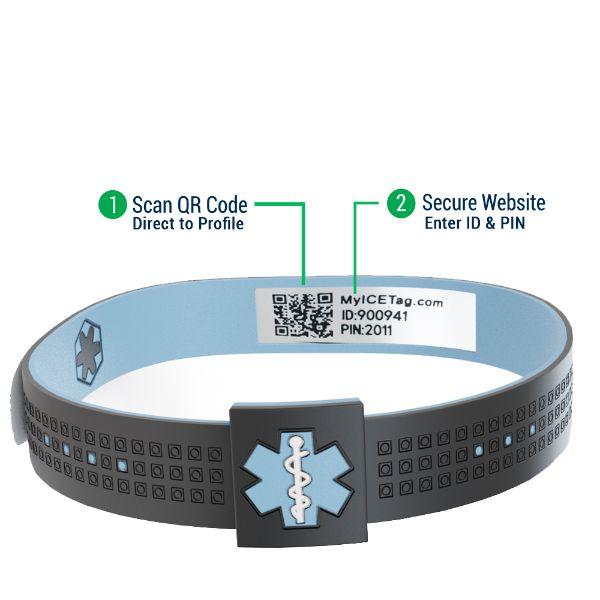 medical alert bands
