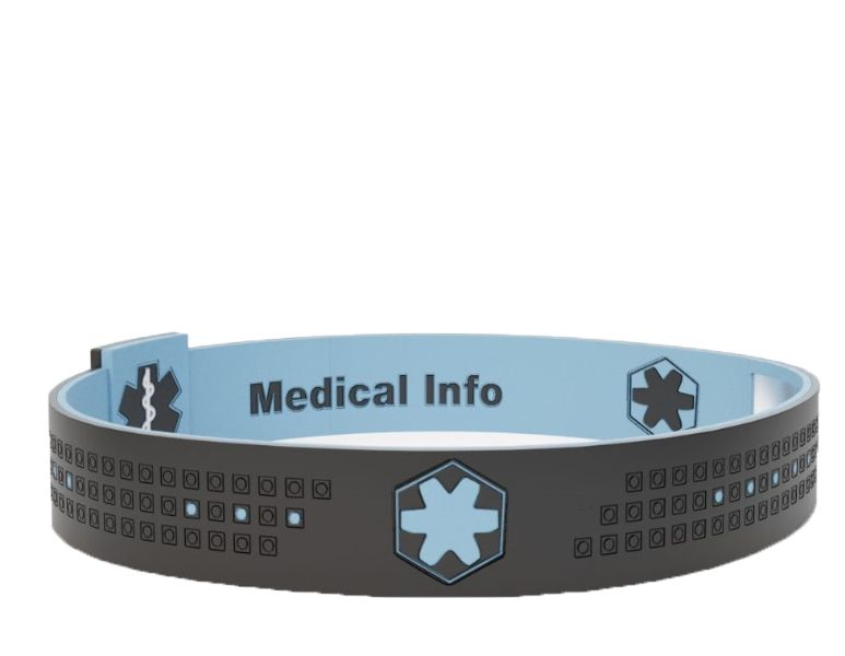 Smart Medical ID Wristband